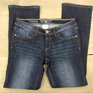 Parasuco mid rise jean bootcut 29w